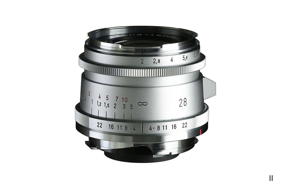 Ultron vintage line 28mm f2 Aspherical  I, II