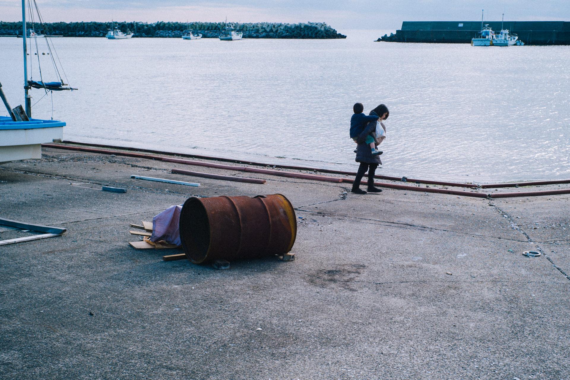 冬の逗子小坪漁港をLeica M10-Dを持って訪れた