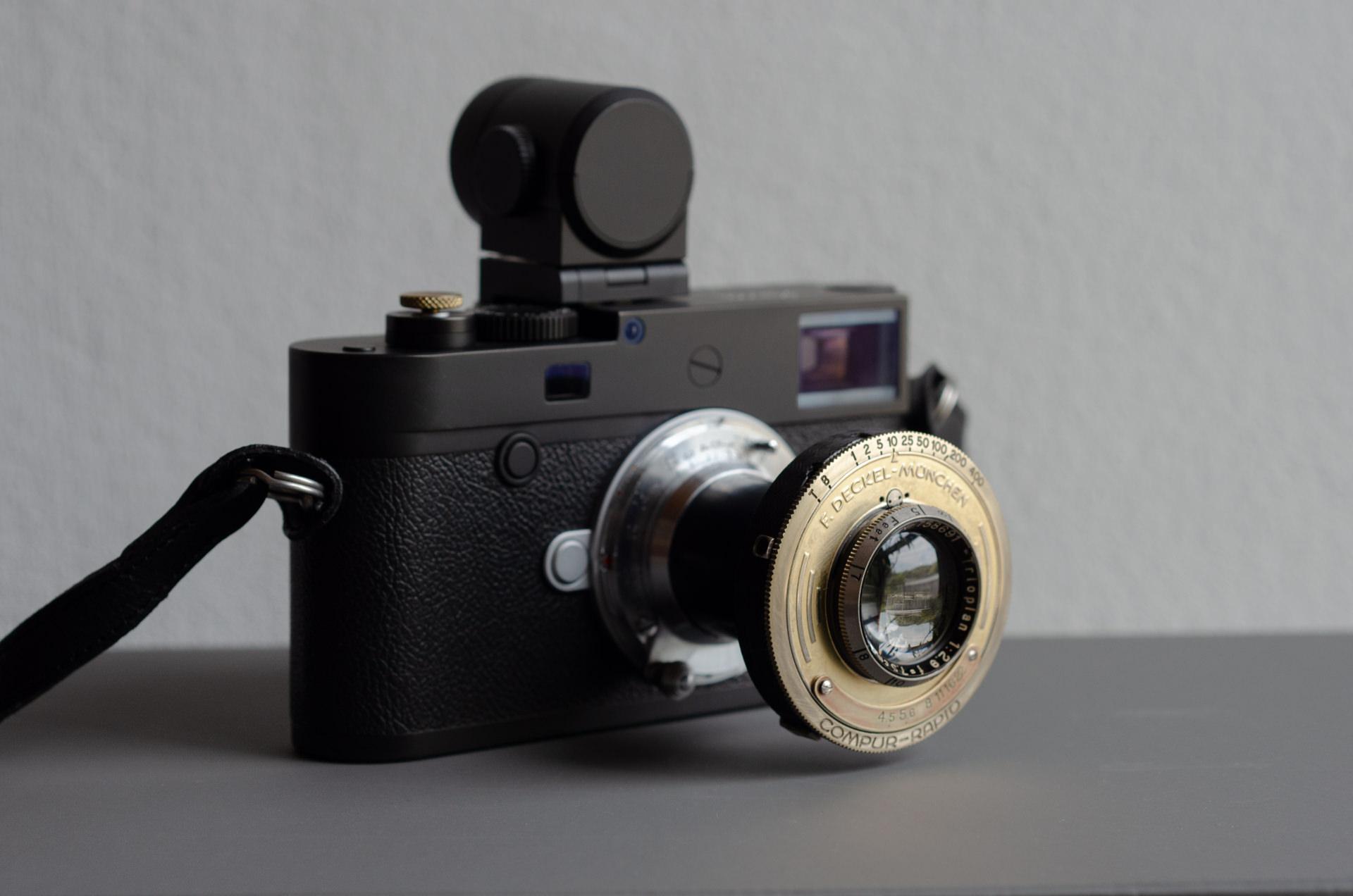 Leica M10-D Trioplan 75mm F2.9
